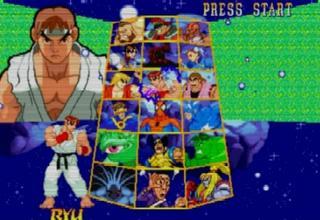 marvel super heroes vs street fighter iso