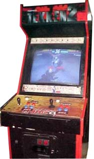 Tekken 2 - Cabinet Image & Tekken 2 - Videogame by Namco