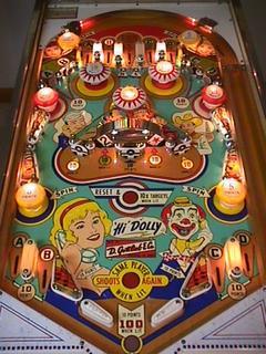Star Wars Pinball Machine >> Hi Dolly - Pinball by Gottlieb, D. & Co.