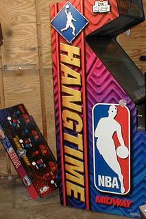 nba hangtime arcade machine
