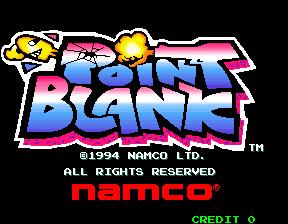 point blank arcade machine for sale
