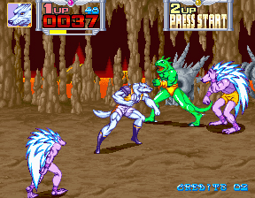Metamorphic Force - Videogame by Konami