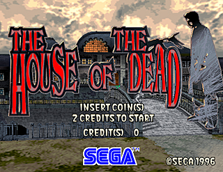 Superb House Of The Dead, The   Title Screen Image