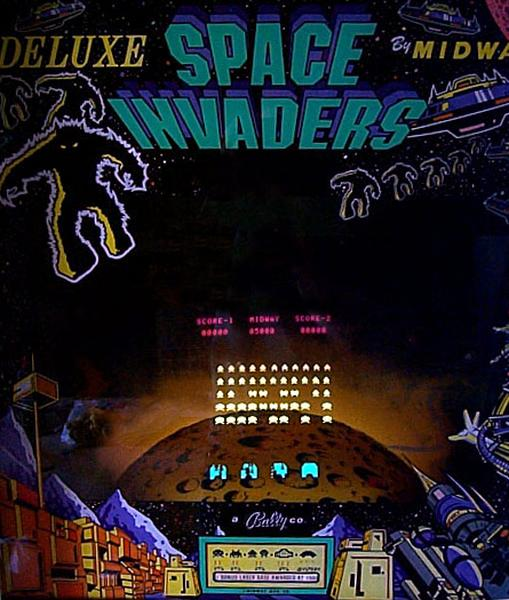 1058063941 space invaders deluxe videogame by midway manufacturing co