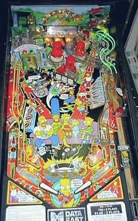 Simpsons Pinball By Data East