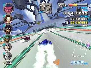 f zero ax videogame by nintendo