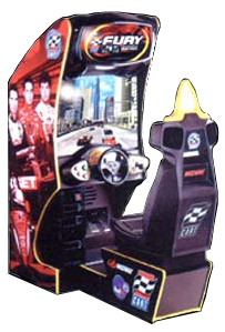 Cart Fury Videogame By Midway Games