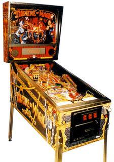 Theatre Of Magic Pinball By Bally