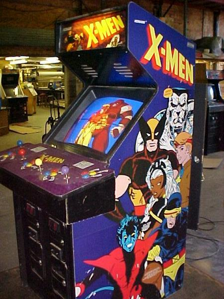 X Men Videogame By Konami