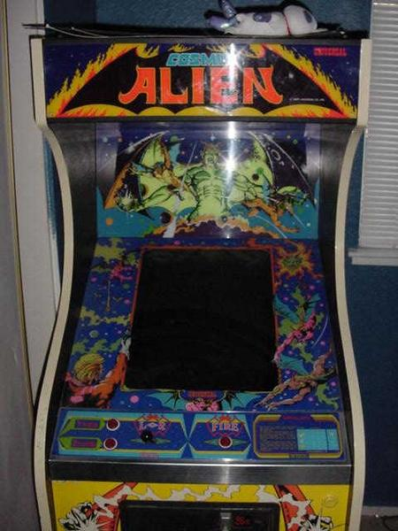 Cosmic Alien Videogame By Universal