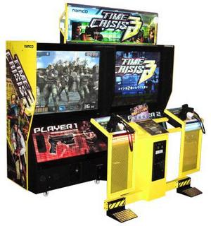 time crisis 3 arcade machine