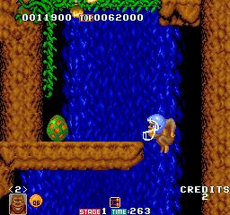 Toki - Title screen image