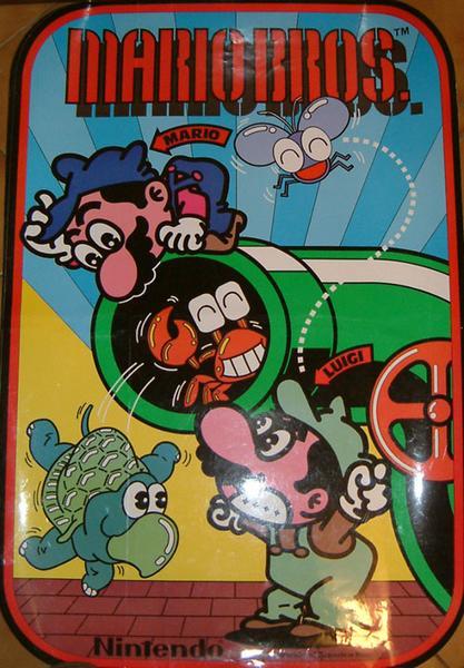 Mario Bros Videogame By Nintendo