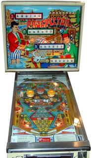 1977 Sonic Mars Trek pinball super kit
