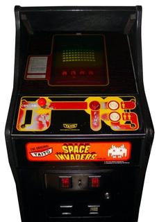Space Invaders Videogame By Midway Manufacturing Co