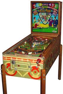 1963 Williams Skill Pool pinball super kit
