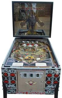Space Invaders Pinball Pinball By Bally Manufacturing Co