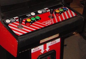 metal slug arcade machine