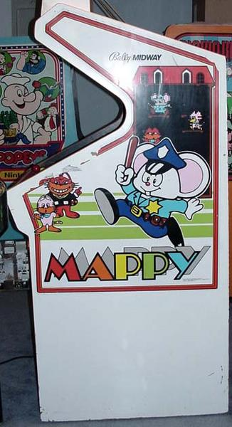 Mappy Videogame By Namco