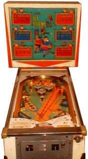 1966 Bally Six Sticks pinball super kit
