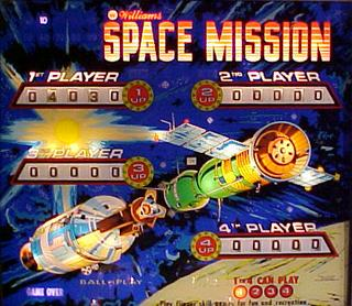 Space Mission - Pinball by Williams Electronics, Inc ...