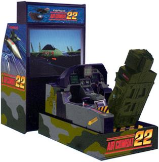 Air Combat 22 Videogame By Namco