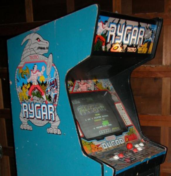 Rygar Videogame By Tecmo