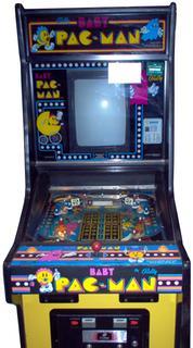 Midway Baby Pac Man pinball super kit 1982 Bally
