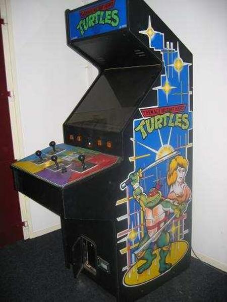 Teenage Mutant Hero Turtles Style 2 Videogame By Konami