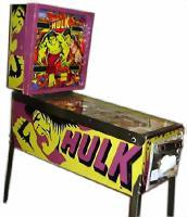 Incredible Hulk Pinball By Gottlieb D Amp Co