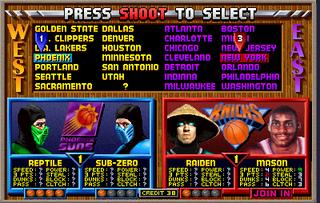 NBA Jam MK Players
