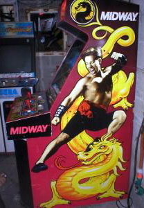 mortal kombat videogame by midway games