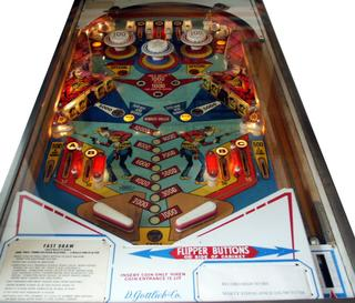 Quick Draw pinball rubber ring kit 1975 Gottlieb Fast Draw