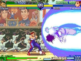 2001 Capcom Street Fighter Zero 3 Upper Header Manuals & Guides Arcade Gaming