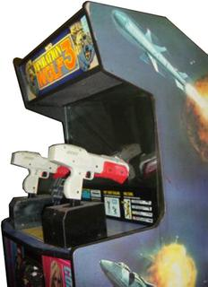 operation wolf 3 videogame by taito