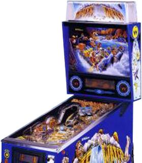 White Water Pinball By Williams Electronic Games Inc