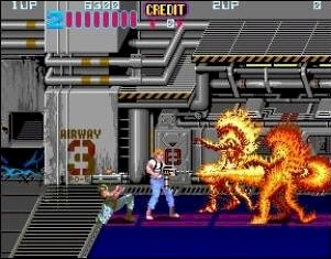 Aliens Videogame By Konami