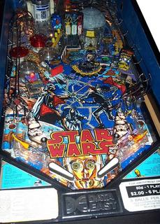 Star Wars Pinball Machine >> Star Wars Pinball Pinball By Data East