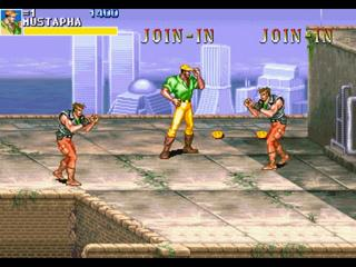 Cadillacs And Dinosaurs - Videogame by Capcom on