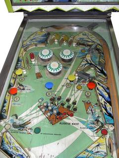 Alligator Pinball By Bally Manufacturing Co
