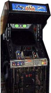 Stand up Star Wars arcade game