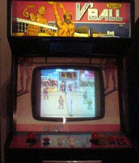 V Ball Videogame By Technos