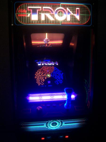 Tron Videogame By Bally Midway
