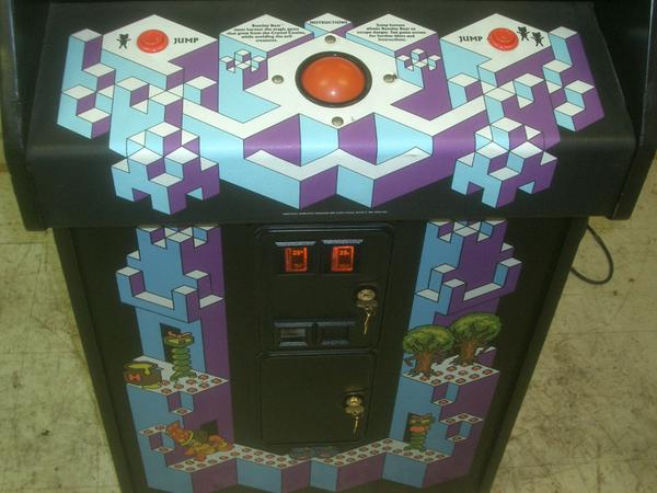 Crystal Castles Videogame By Atari