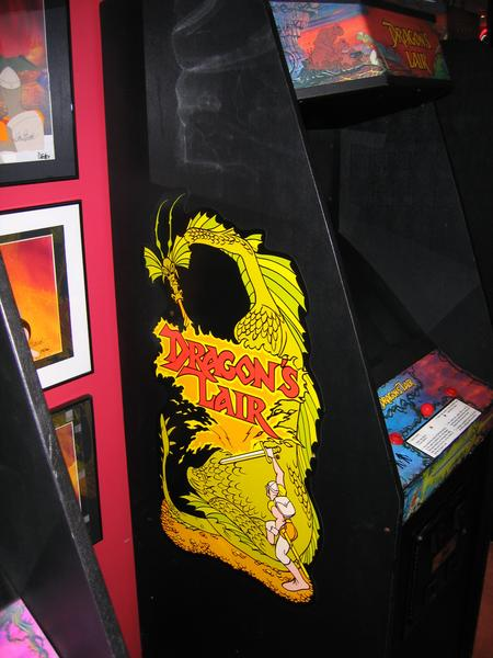 borne arcade dragon's lair
