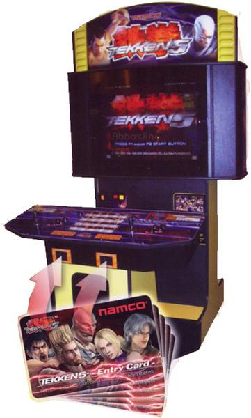 tekken 5 arcade machine