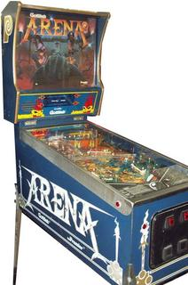 gottlieb arena pinball machine