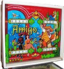 amigo pinball machine