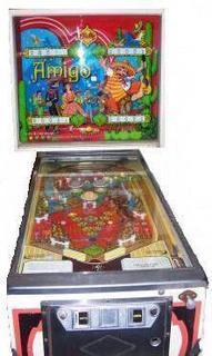 buy discount super cute Amigo Pinball - Pinball by Bally Manufacturing Co.