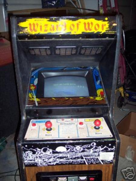 Wizard Of Wor Videogame By Bally Midway